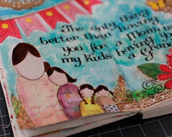 Art journaling #diy #crafting