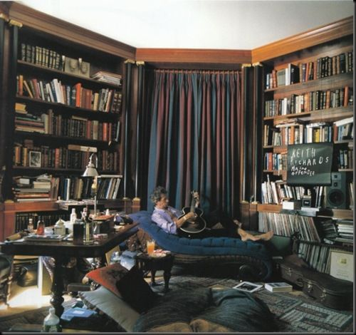 Keith Richards library: