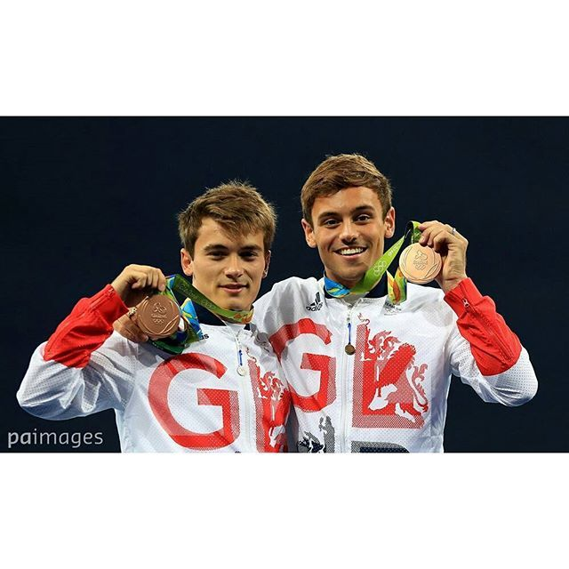 •I'm so proud and happy for them🌟° #TomDaley #DanielGoodfellow #bronze #diving #amazing #GB #GreatBritain #talented…