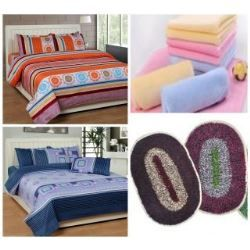 Shopclues offer super saver offer for you. In this offer you can get 2 polyester double bed bedsheets set, 3 cotton face towels and 2 polyester door mats. This is best offer of the week. All these product you can only in Rs. 369 but the original price of this product is Rs. 1387. Use … Continue reading K Decor combo (2 polyester double bed sheets set+3 Cotton face towels+2 Polyester door mats)