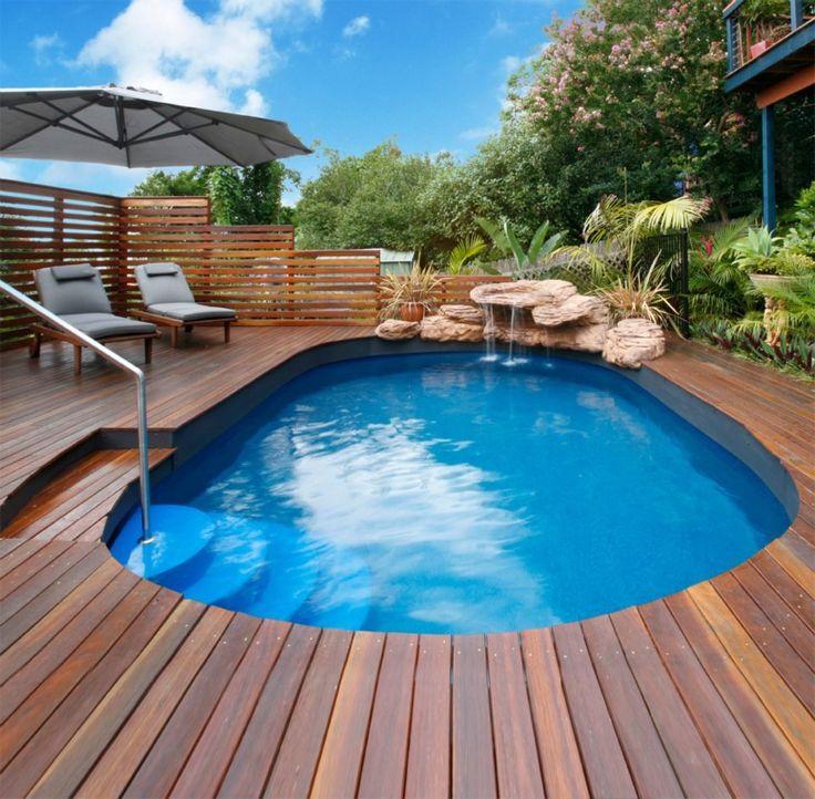 13 besten semi inground pools bilder auf pinterest pool hinterhof spa und begehbar. Black Bedroom Furniture Sets. Home Design Ideas