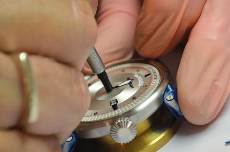 Exklusives Uhr-Kraft-Uhrenseminar