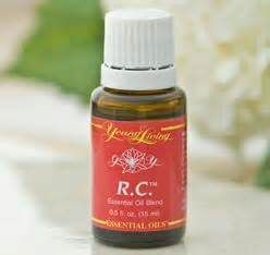 RC Oil for allergies, respiratory, sleep apnea