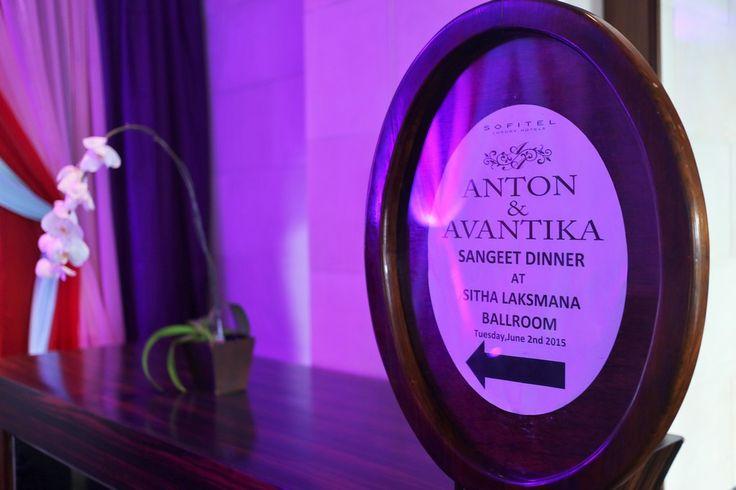 Avantika + Anton | Red Gardenia