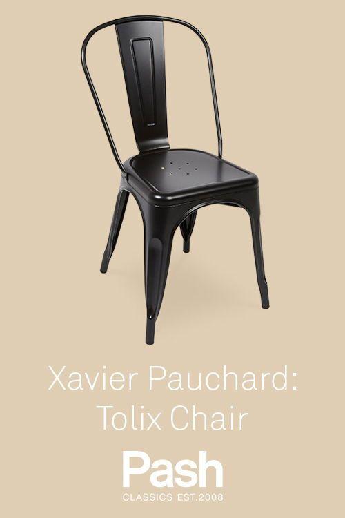 Xavier Pauchard Tolix Chair Black Classic Furniture Furniture