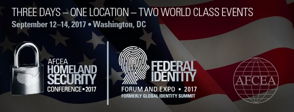 2017 Federal Identity Forum & Homeland Security: Conference Schedule