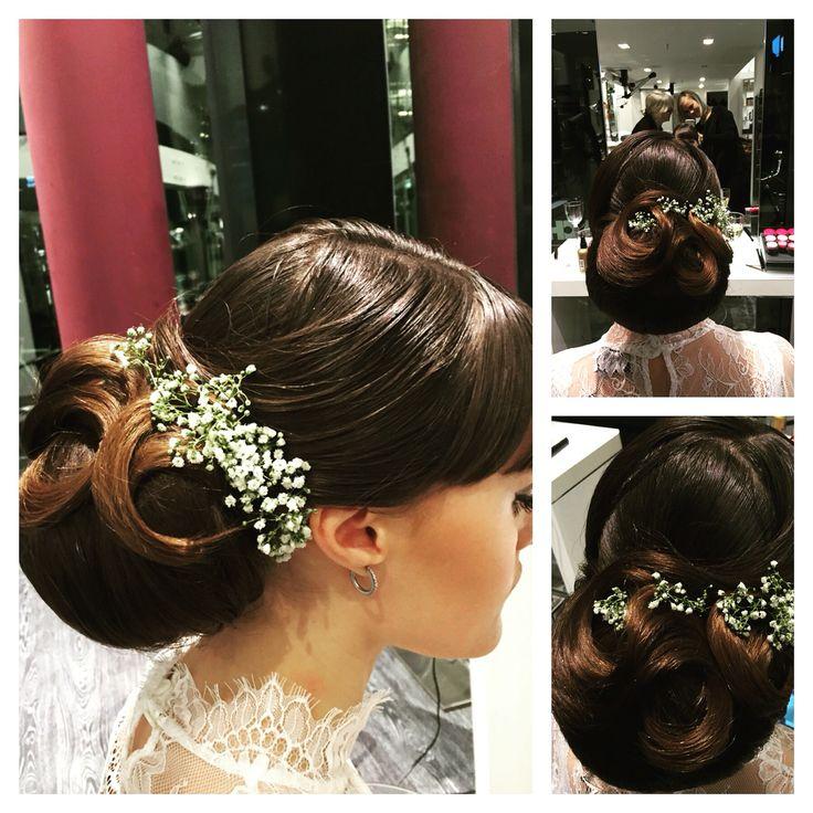 Bride haair