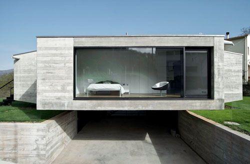 Casa Pocafarina by architect Hidalgo Hartmann.