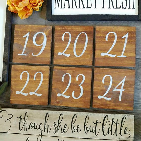 Check out this item in my Etsy shop https://www.etsy.com/ca/listing/513780356/wedding-double-sided-table-numbers