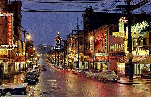 Vancouver Chinatown Neon