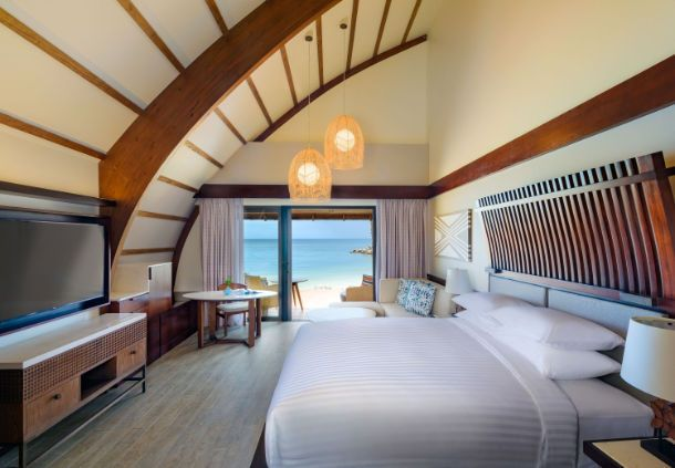 BREAKING NEWS! Havwoods will be making a guest appearance on the Bachelorette finale tonight on Channel TEN. The romantic backdrop for the finale this year is the Fiji Marriott Resort Momi Bay which features Havwoods Venture Plank engineered timber flooring and cladding throughout. Photo from Fiji Marriott Resort Momi Bay.