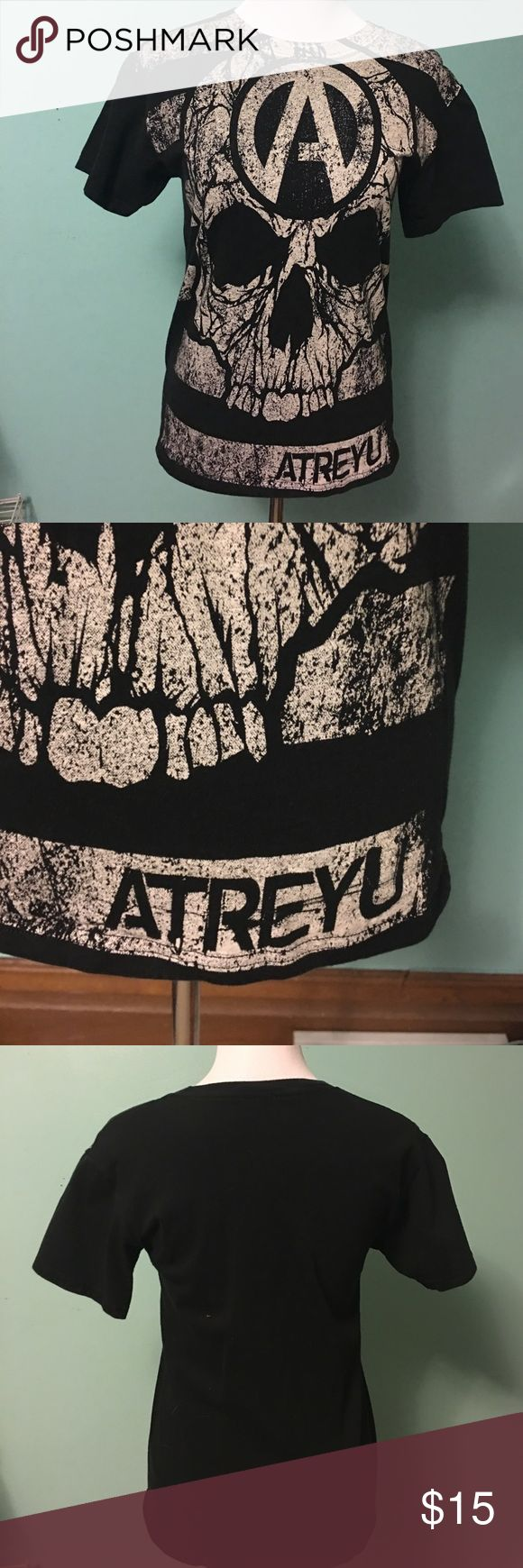Atreyu Band Tee Worn a Few Times. Good Condition. No Holes or Stains. Shirts Tees - Short Sleeve