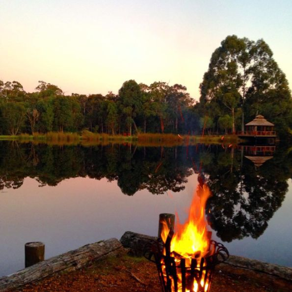 Last night we had a camp fire by a Mirror lake....Nature is perfect