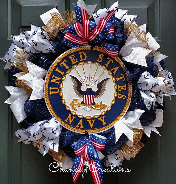 Navy Wreath United States Navy Wreath Military Wreath