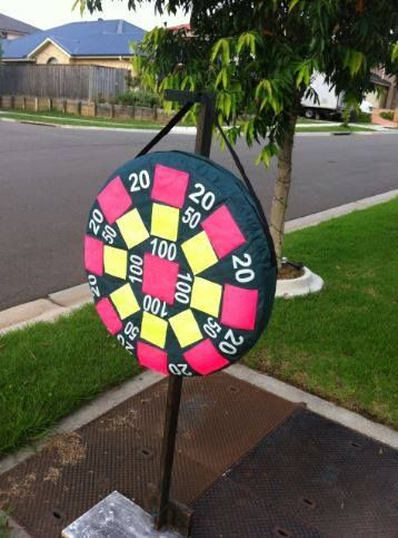 Right on target-one of our games