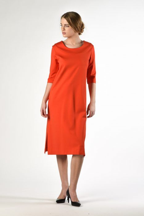 Slit Tunic Dress $249