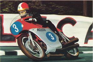 MV Augusta 500 - 3 Giacomo Agostini Isle of Man 1968
