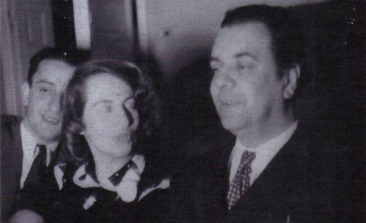 Borges todo el año: Silvina Ocampo: La íntima dicha de la inteligencia - Foto: JLB, Silvina Ocampo y José Bianco por Adolfo Bioy Casares (Buenos Aires, 1939)