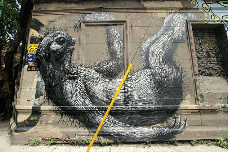 In Buenos Aires, there are very few restrictions on street art: there's no need to obtain authorization from the local authority to change the appearance of a building -- all you need is the consent of the property owner.   The results are inspiring.