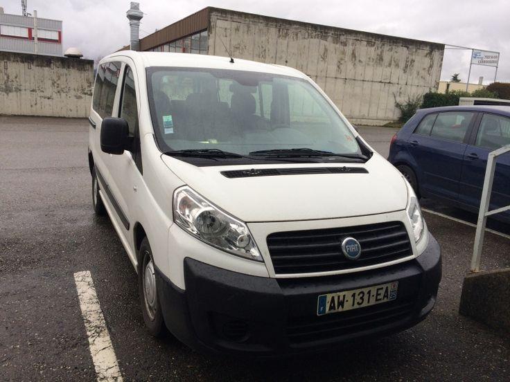 Loue Fiat Scudo 8 places. Location véhicule 8 places à Cluses (74) sur www.placedelaloc.com
