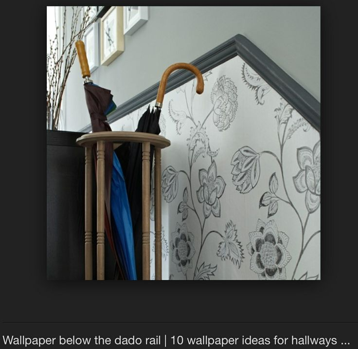 Dado Rail And Wallpapers On Pinterest