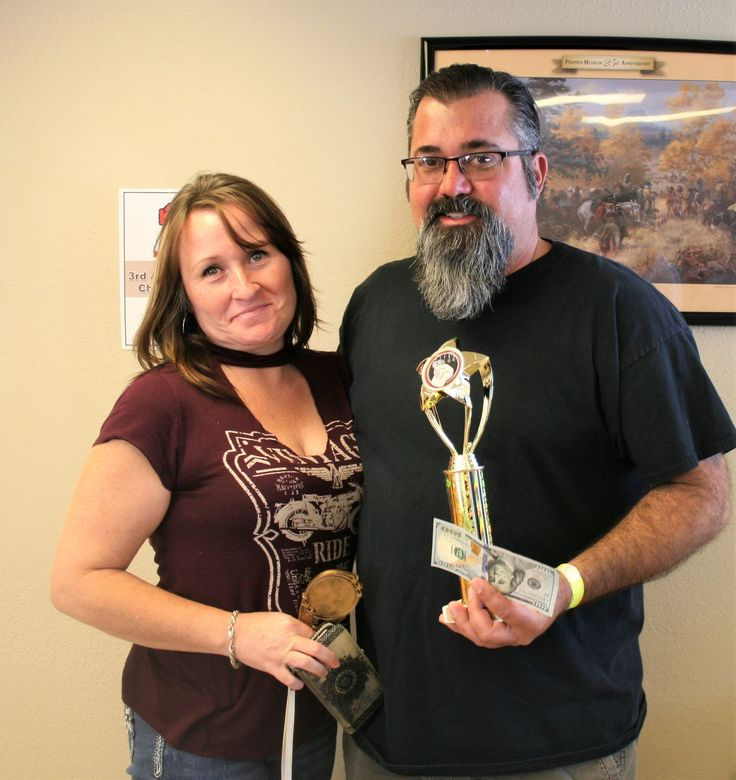 Drake Cements Craig Doman won first prize in Traditional Chili and went on to win the Grand Prize! Congrats to Craig and his lovely wife!