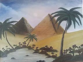 Egyptian Landscape Submited Images Pic 2 Fly Picture.