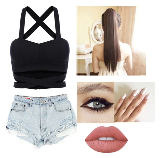 Untitled #6 by julle-fangirl on Polyvore featuring polyvore, fashion, style, Lime Crime and clothing