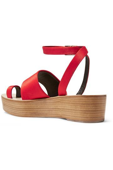 Janie satin platform sandals | TIBI | Sale up to 70% off | THE OUTNET