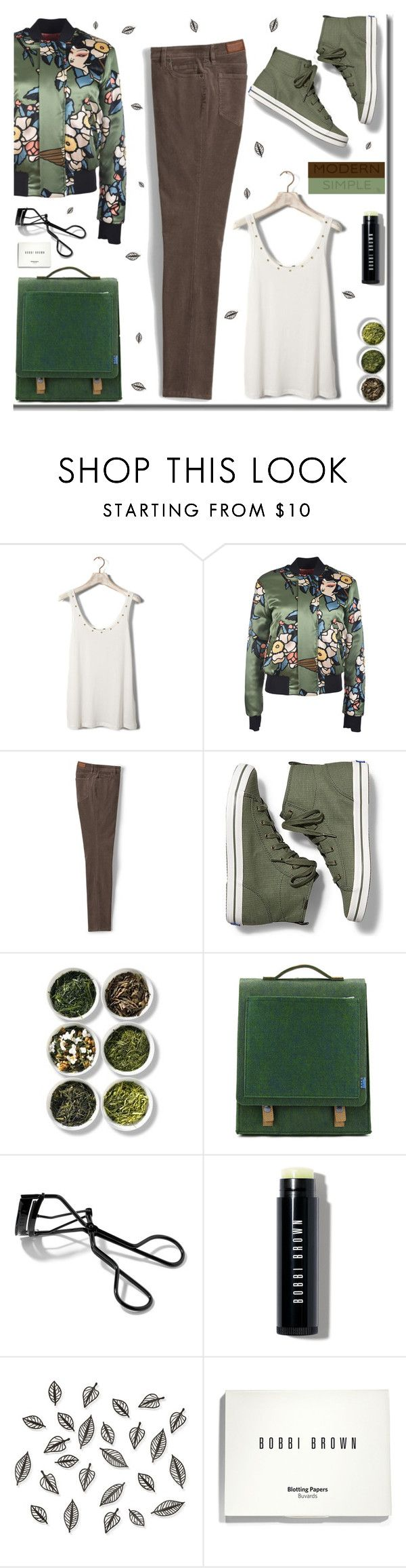 """🎀 #508  Simple & Modern Dsquared Jackets"" by wonderful-paradisaical ❤ liked on Polyvore featuring Pull&Bear, Dsquared2, Lands' End, Keds, Tea Collection, Supra, Bobbi Brown Cosmetics, Umbra, modern and outfit"