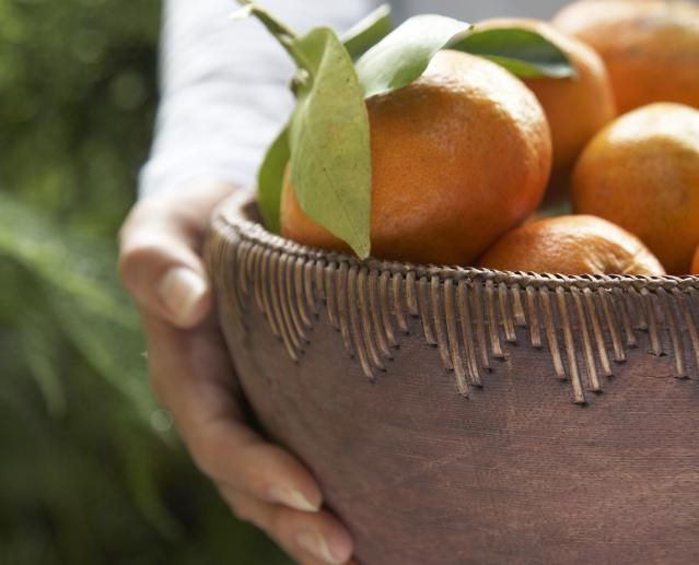 Health Feng Shui Tips: Cleanse the Energy in Your Body: Have 9 oranges (Fire feng shui element) in a round metal bowl (Metal feng shui element.) Replenish them as needed.
