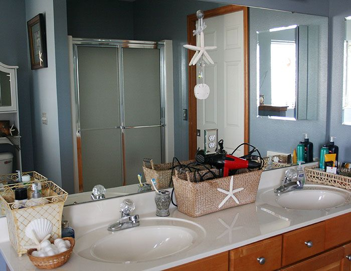 1000+ Images About Nautical/Ocean Themed Bathroom On Pinterest