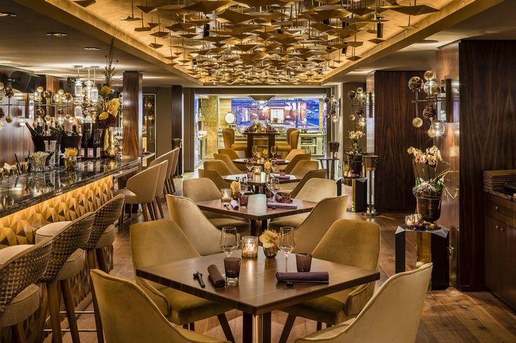 Nikkei Nine – Ein Gourmet Restaurant der japanischen Fusionsküche mit einem vornhemen Innenarchitektur Stil.