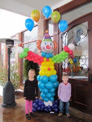 decoraciones con globos de latex y metalizados para fiestas infantiles Mercadolibre