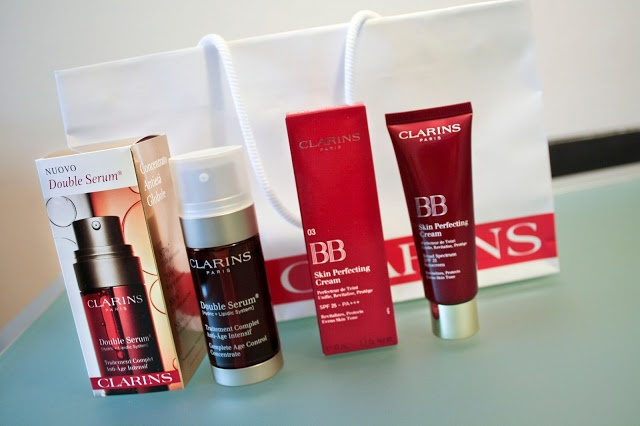 Clarins beauty care products on www.thecurlyway.com