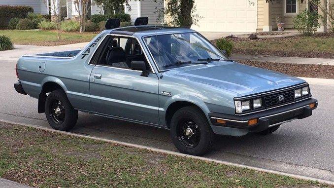 1986 Gl 1 8l 4spd In Gainesville Fl Subaru Jump Seats Gainesville