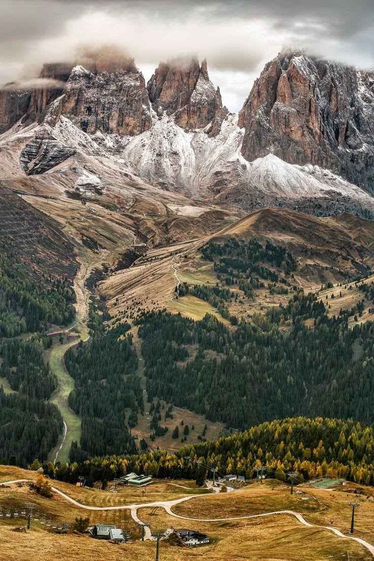 Fade up, Dolomites, Michael Bennati