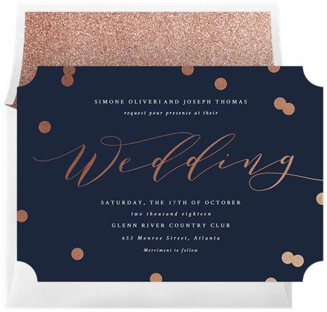 Confetti Bliss by Stacey Meacham Design, llc @Greenvelope