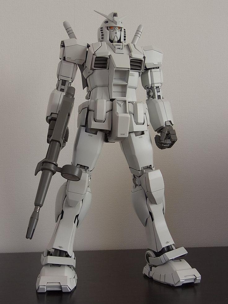"Custom Build: MG 1/100 RX-78-3 Gundam G-3 Ver. 2.0 ""Ring of Gundam"" - Gundam Kits Collection News and Reviews"