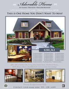 house for rent flyer template word