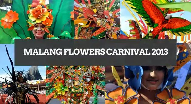 Malang Flower Carnival 2013 video