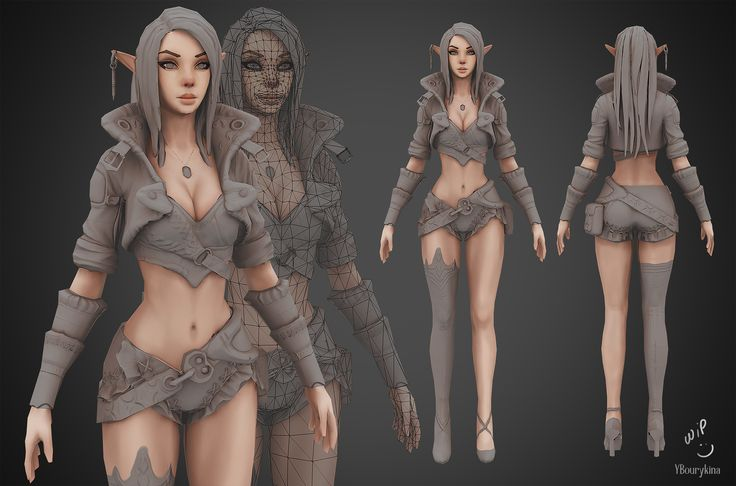 Archer Lady Sibill WIP2 by YBourykina