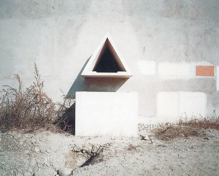 Paradise Backyard: Aldo Rossi by Luigi Ghirri