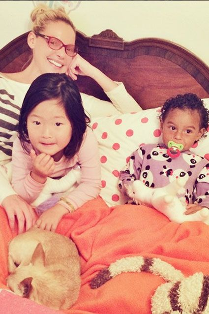"""Kathryn Heigel""""s daughters  Stars Share Pics of Their Cute Kids"""