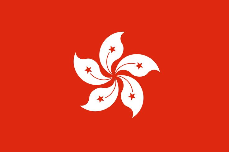 Current flag now known as the Hong Kong Special Administrative Republic of China
