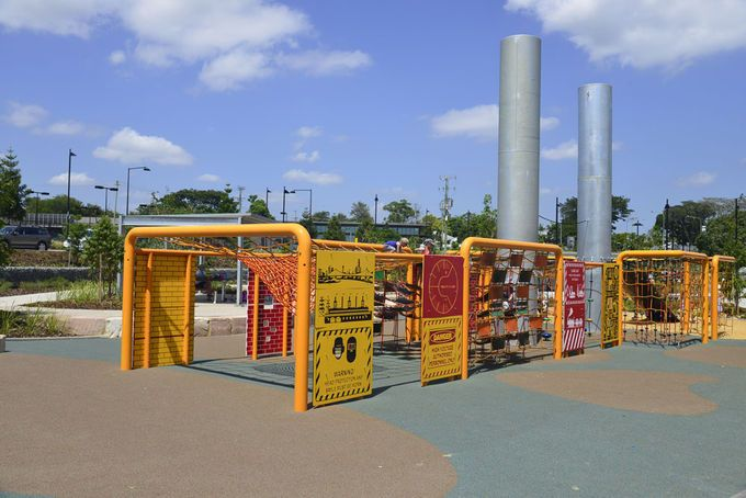 Ken Fletcher Park Tennyson Kids Playground