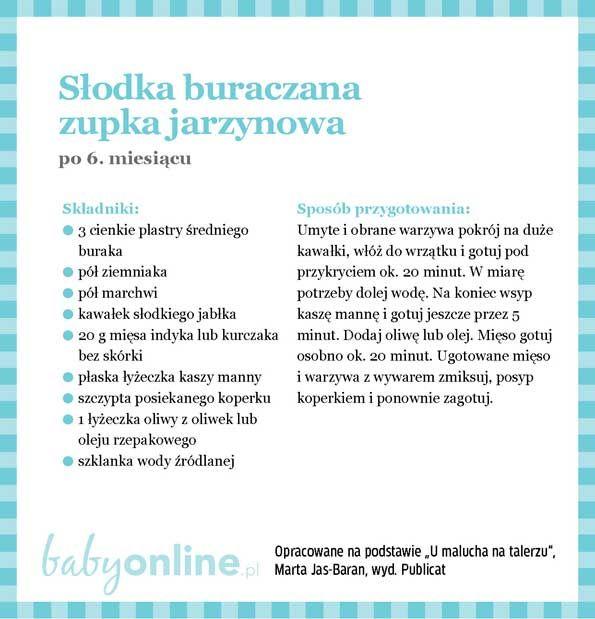 Przepisy dla niemowlaka - Zupki dla niemowlaka | Strona 10 | Baby online