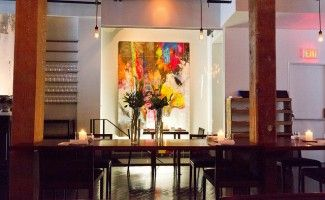 Restaurant painting and design by ColourWorks Painting Design Toronto
