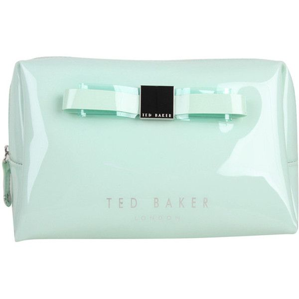 TED BAKER Womens Mint Pv Wash Bag found on Polyvore