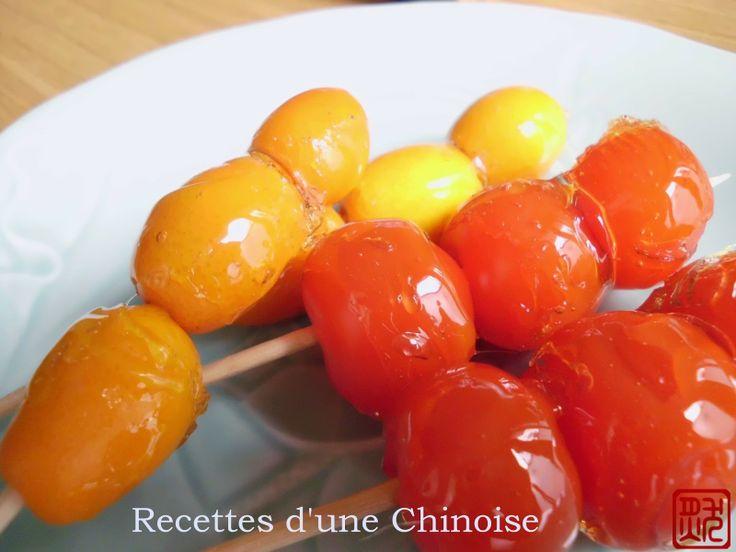 Recettes d'une Chinoise: Tang hulu 糖葫芦 táng húlu